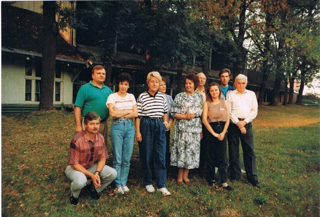 Pożegnanie strzelnicy na Woli Justowskiej (ok. 1995)