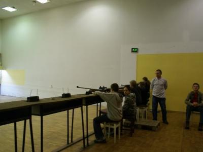 I Zawody Strzeleckie Kadetów – 17.01.2008
